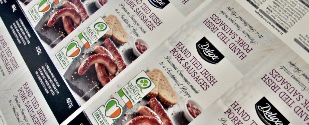 Sausage sleeve press sheet