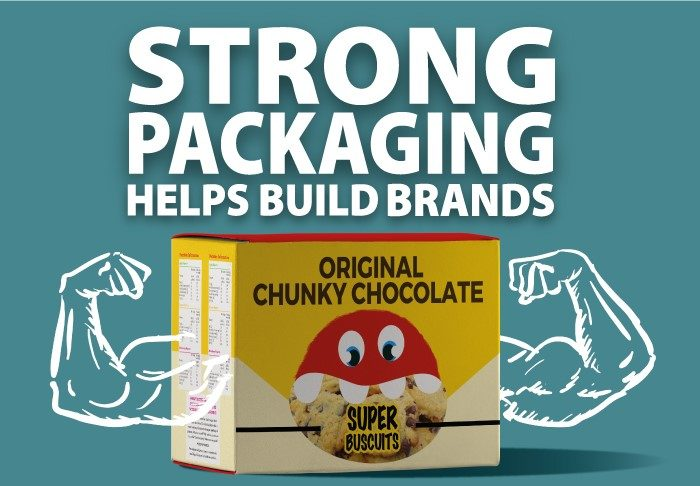 Strong Packaging helps build Brands