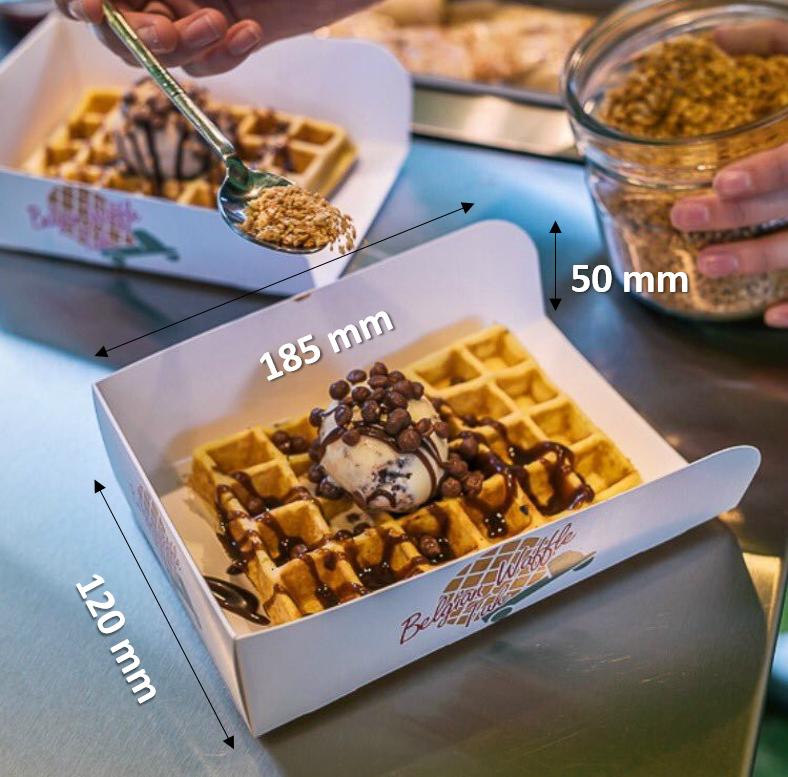 waffle measurements