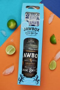 Jawbox Gin Packaging