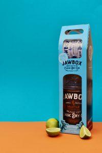 Jawbox Gin Christmas Packaging