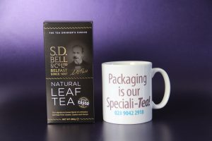 Packaging is our Speciali-Tea