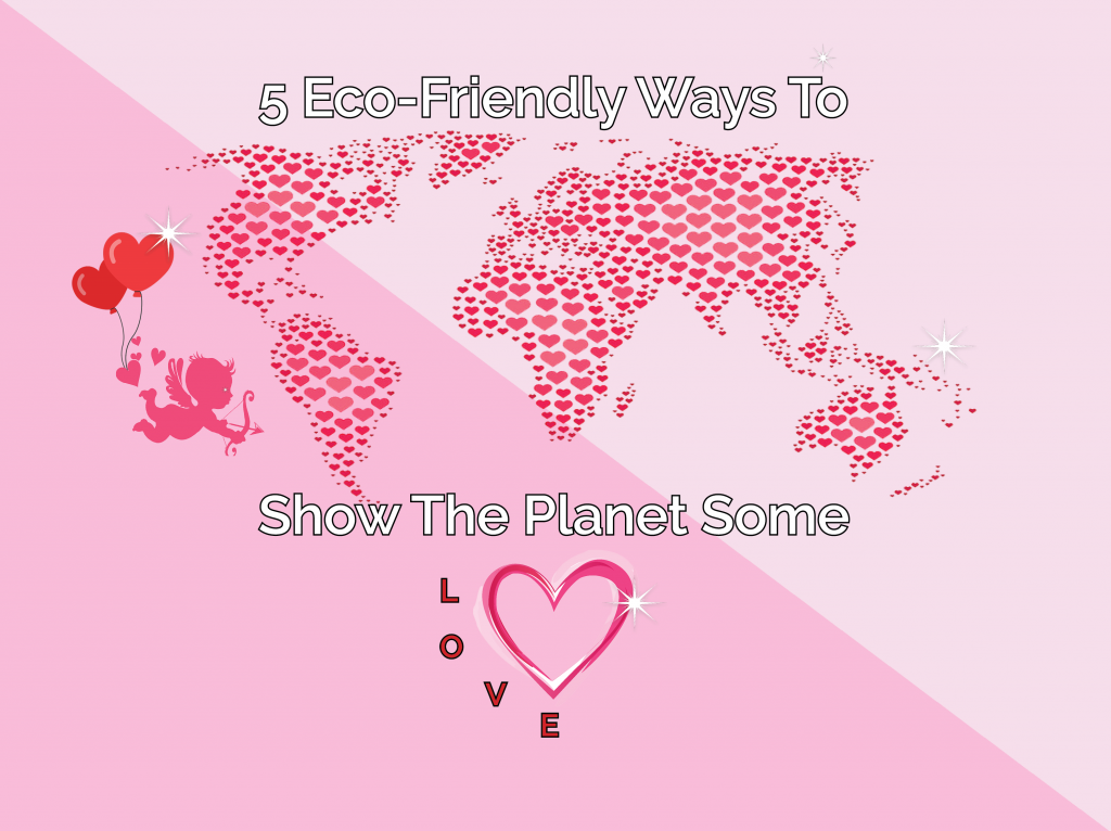5 Eco-Friendly Ways To Show The Planet Some Love!
